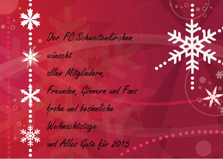 Fc Bayern Wünscht Frohe Weihnachten.2014 Fc Schweitenkirchen